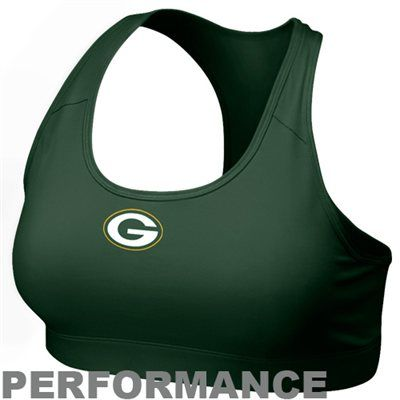 Nike Green Bay Packers Women's Pro Sports Bra - Green