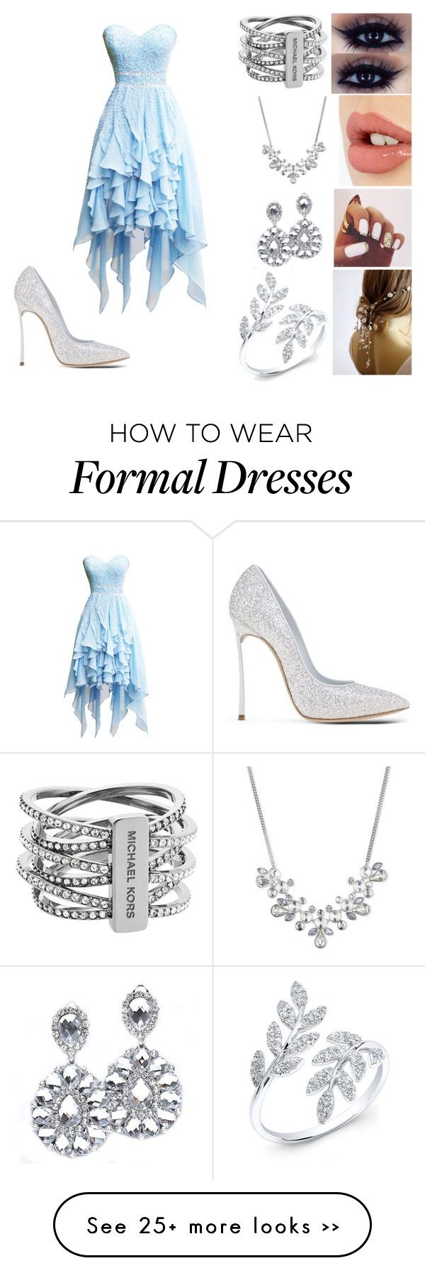 """""""Untitled #18"""" by missdolan on Polyvore featuring moda, Casadei, Charlotte Tilbury, Givenchy e Michael Kors"""