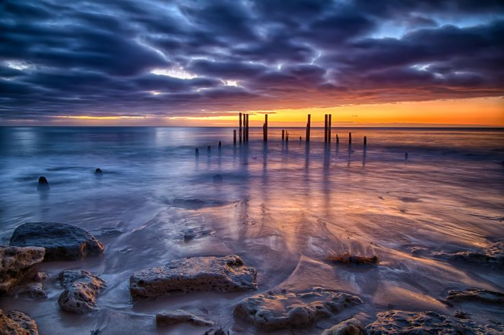 Port Willunga Jetty at sunset by Rene Kisselbach Photography on 500px