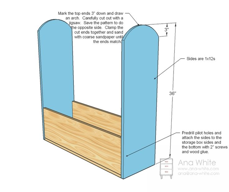 Ana White | Build a Craftiness is Not Optional's Dress Up Storage | Free and Easy DIY Project and Furniture Plans