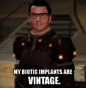 Hipster Kaidan - This just made me laugh way too hard.  I hate Kaidan.  (Mass Effect)
