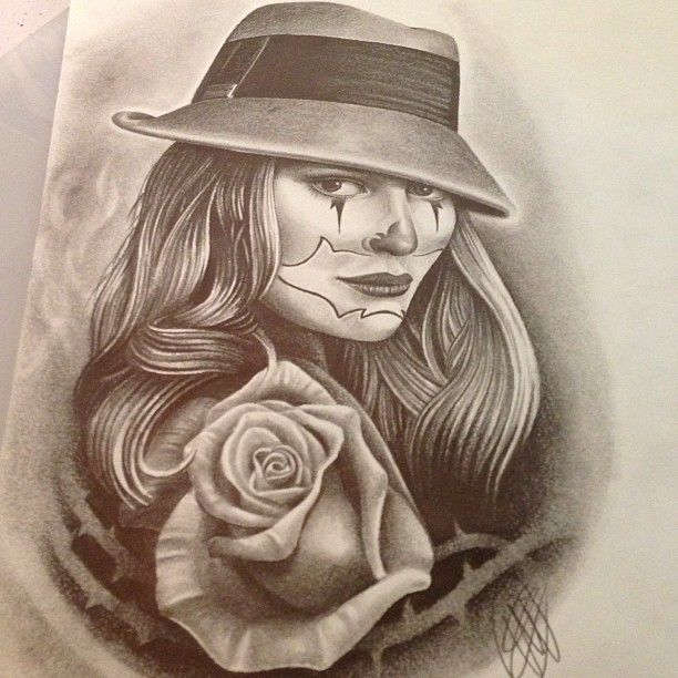 Chicana Drawings and Designs