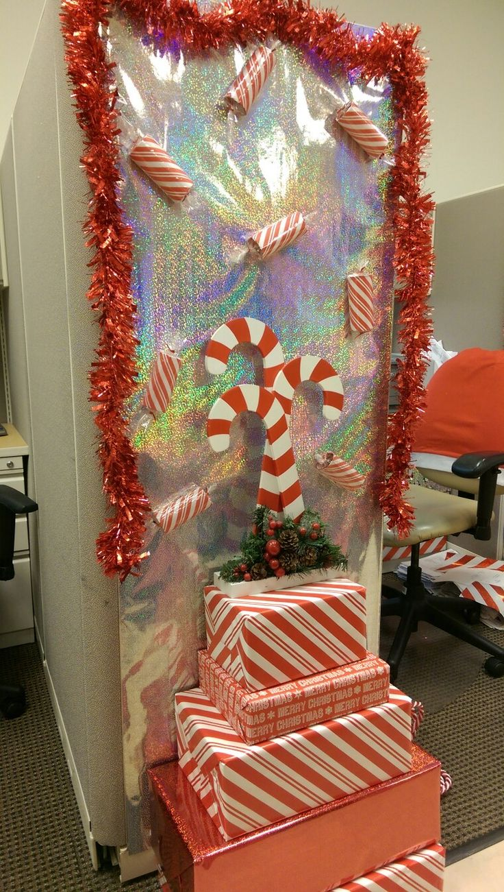 2016 Christmas cubicle decor 20 best Christmas