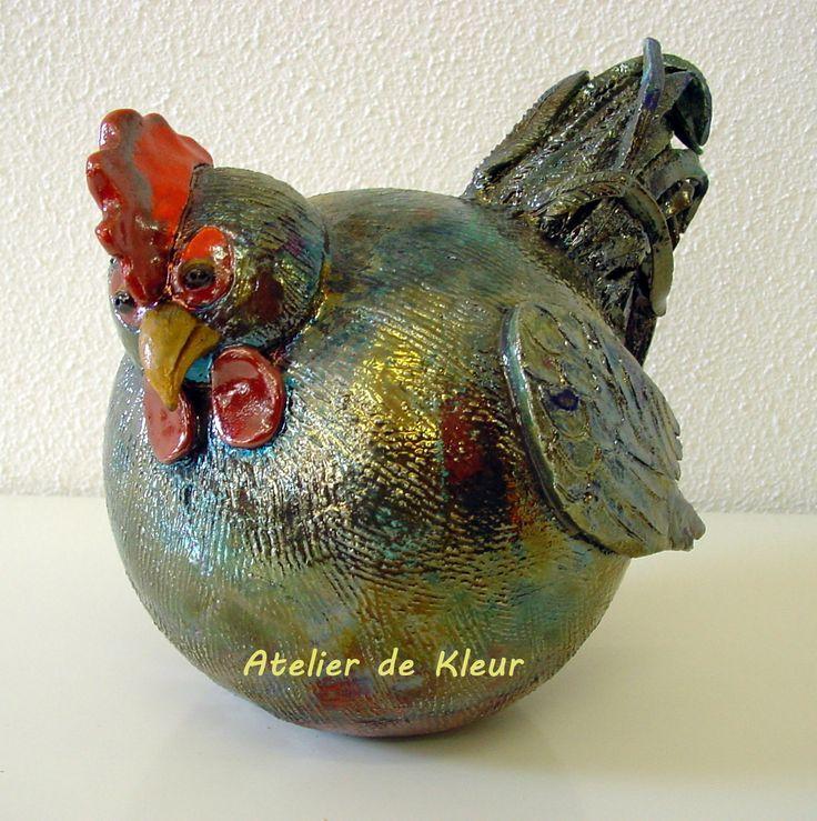 Atelier De Kleur – JR, Raku Hahn. – Tolle Ideen – #Atelier #de #Hahn #Ideen #J …   – Vögel