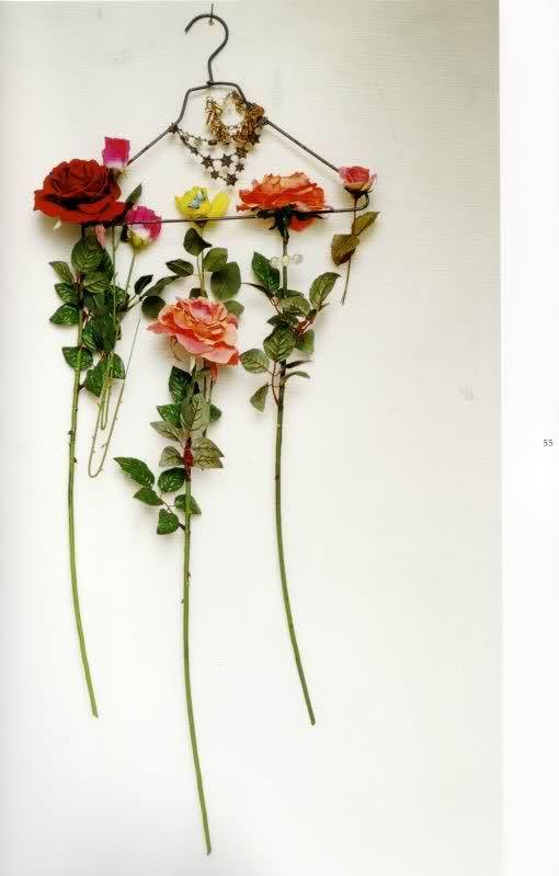 Tim Walker flower hanger.