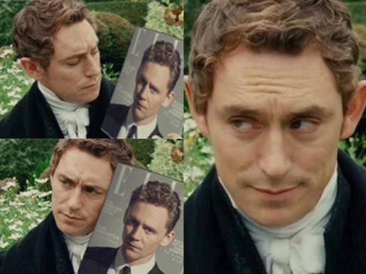 JJ Feild & Tom Hiddleston - FINALLY someone did this! I've always wondered if I was the only one who thought they were the same person.
