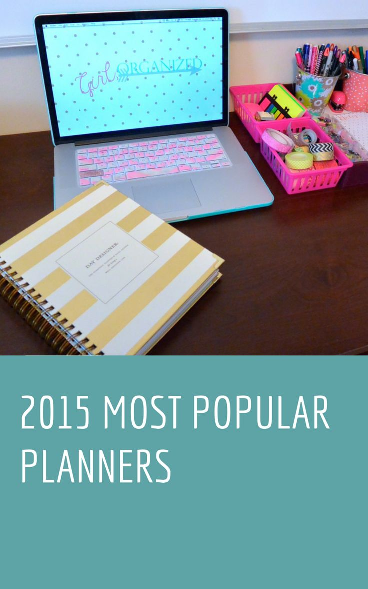 most popular planners girl organized