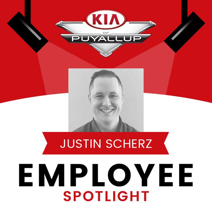 This month we are thrilled to shine our Employee Spotlight on one of Kia of Puyallup's very first Sales Consultants, Justin Scherz! For over 16 years, Justin has proven to be a valuable contribution to the Kia of Puyallup family. He has continued to excel in each role he is assigned, both on and off the clock. Thanks for your loyalty and commitment to Kia of Puyallup's success, Justin. Plus a HUGE CONGRATULATIONS is in order. Justin and his family will be welcoming TRIPLETS later this year…