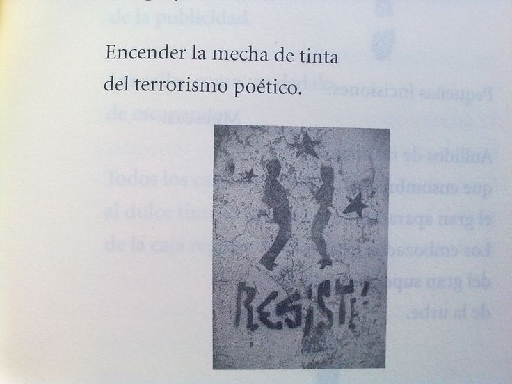Terrorismo poético.