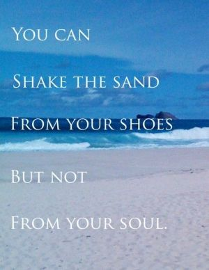 beach - Click image to find more Quotes Pinterest pins by mona