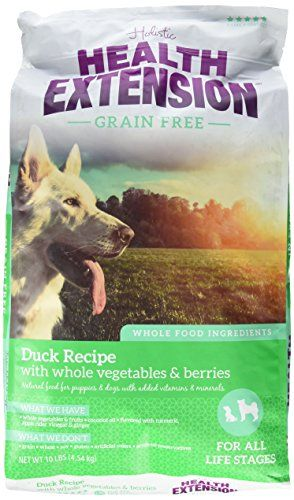 Health Extension 587166 GrainFree Duck and Chickpea Pet Food Formula 10 lbOne Size >>> You can find out more details at the link of the image. (Note:Amazon affiliate link)