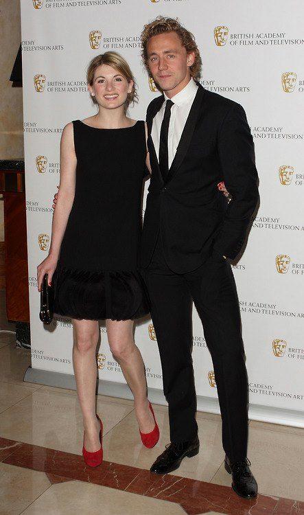 Jodie Whittaker & Tom Hiddleston   (Orange BAFTA 2012, London, UK)