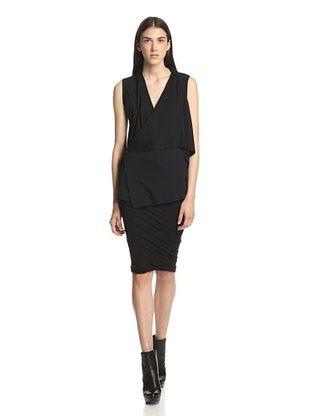 45% OFF Rick Owens Lilies Women's Draped Vest (Black)