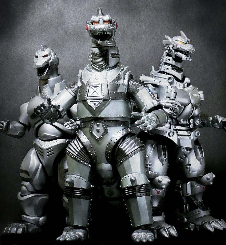 Mecha Godzilla toys.