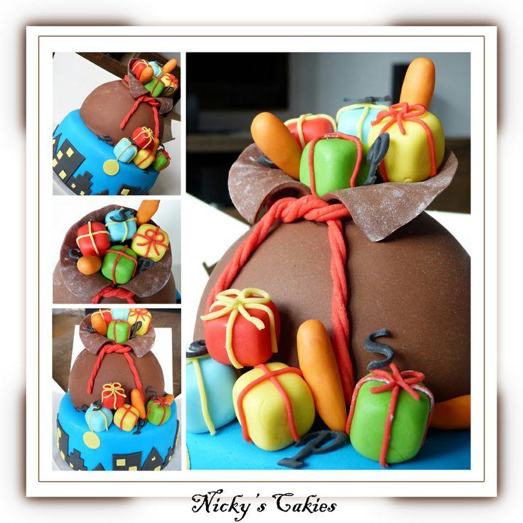 Sinterklaas taart #sinterklaas #taart #cake