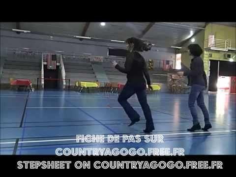 """""""Young & Crazy"""" Choré : Montana Mag Stepsheet: http://countryagogo.free.fr/ Music: Frankie Ballard. #LineDance"""