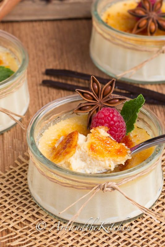 Maple Syrup Creme Brulee