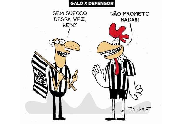 Charge Do Dia 26 02 2019 Ultimo Jogo Da Pre Libertadores Charge Do Dia Clube Atletico Mineiro Atletico