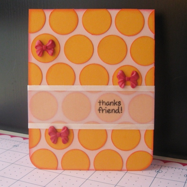 Love this card - it's a really clean, simple design that I could see myself using for cards or layouts....