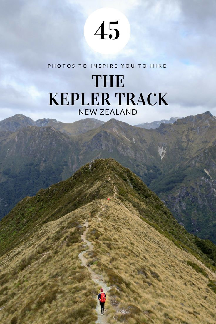45 photos to inspire you to walk our favourite Great Walk of New Zealand so far, the Kepler Track.