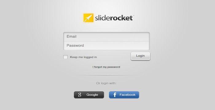 sliderocket login
