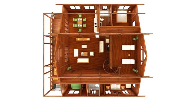 Kona Floor Plans: This user-oriented 3 bedroom addition to the Teak Bali model range has a roomy feel.