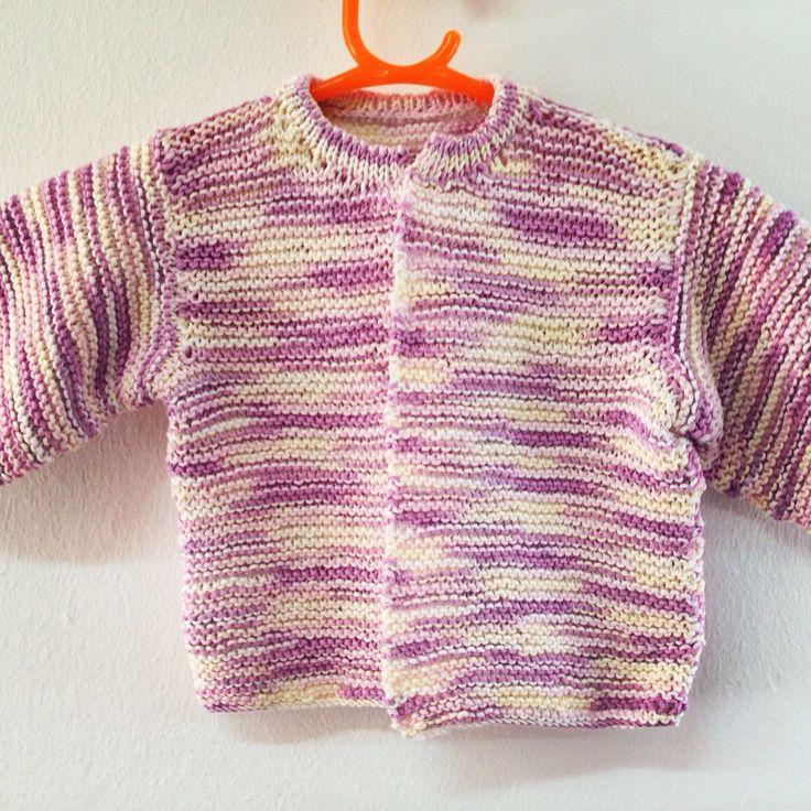 Chaqueta de bebe, tejida con algodón COTTON SOF de Mondial