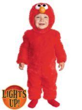 Toddler Boys Elmo Light Up Costume - Sesame Street - Possible Costume for Calvin