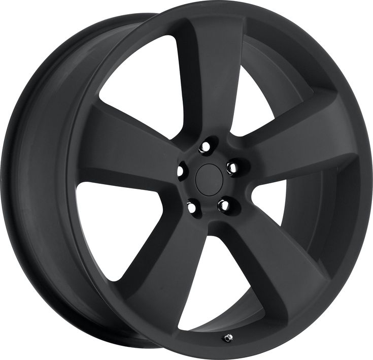 Dodge Charger 2006-2010 20x10 5x115  18 - SRT8 Replica Wheel - Satin Black With Cap