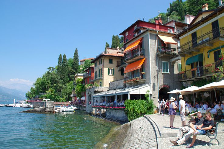 Varenna is such a lovely town on Lake Como