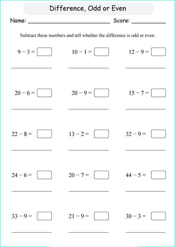 Odd And Even Worksheets For Kids K5 Worksheets Kids Math Worksheets Worksheets Number Worksheets