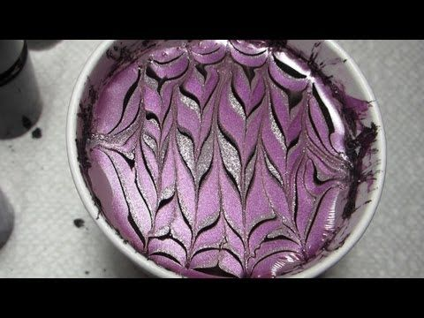 Maybelline Color Show Water Marble Nail Art Tutorial