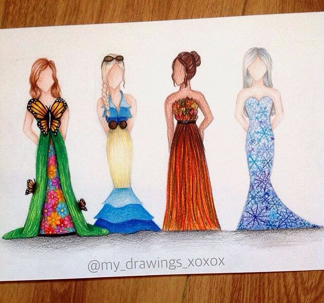 I love this dresses!! My favorite it's the winter one!! ❄️