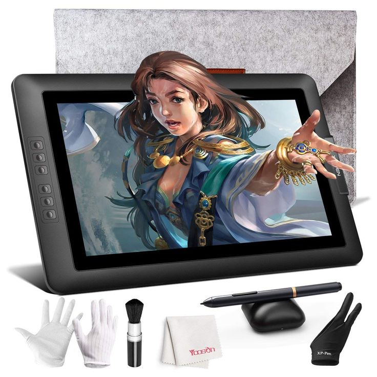 Drawing monitor xppen artist 156 inch full hd ips