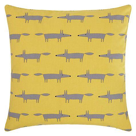 Buy Scion Mini Mr Fox Cushion Online at johnlewis.com