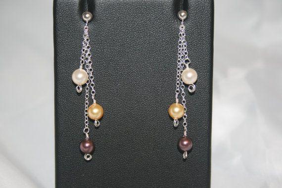 Handmade 'Nicole' Swarovski Crystal Pearl by LHadyoonJewellery, £18.00