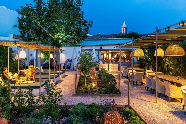 Take A Break From Partying In Paradise At The Giri Café, Ibiza