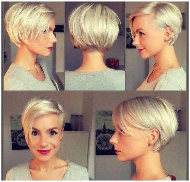 Kurze bob frisuren mit kurzem nacken | Haarschnitte und ...