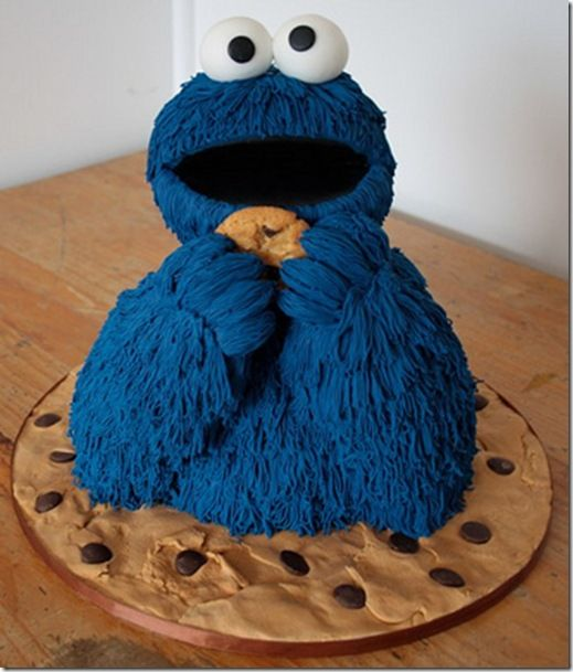 cookie monster cake 17 best images about sesame cakes on 3039