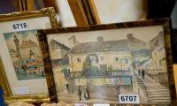 Картины Адольфа Гитлера выставили на аукцион в Нюрнберге