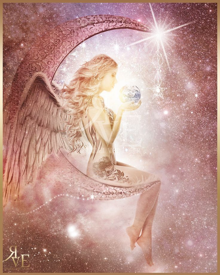 Картинки ангел роза мистика