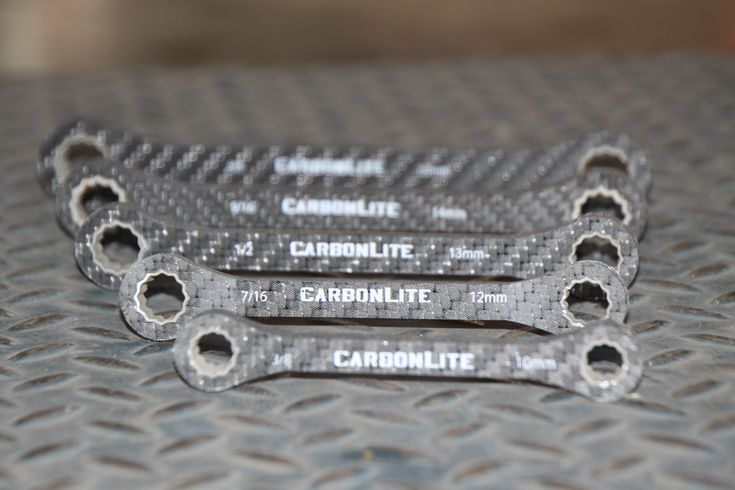 CarbonLite Tools--Carbon Fiber wrenches! Light weight for the motorcycle!