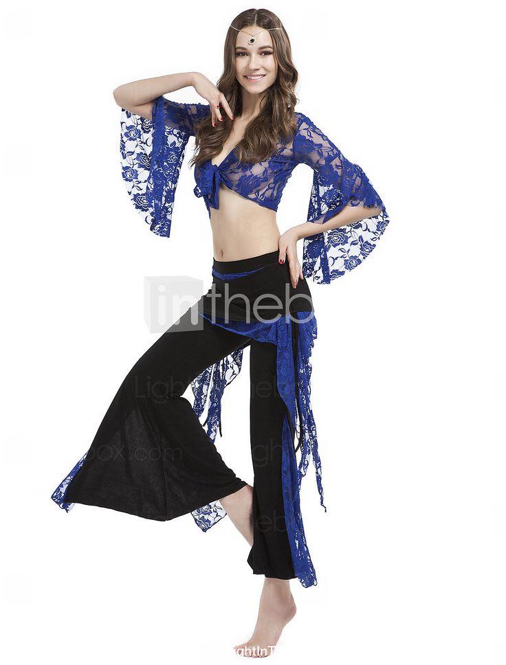 dancewear Kristall Baumwolle mit Spitze Bauch Hose Outfit für Damen mehr Farben 2015 – €21.84