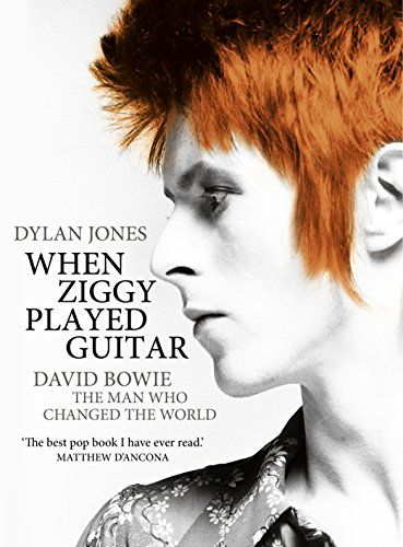 When Ziggy Played Guitar: David Bowie, The Man Who Changed The World by Dylan Jones http://www.amazon.co.uk/dp/1848093853/ref=cm_sw_r_pi_dp_E.sNwb104R09G