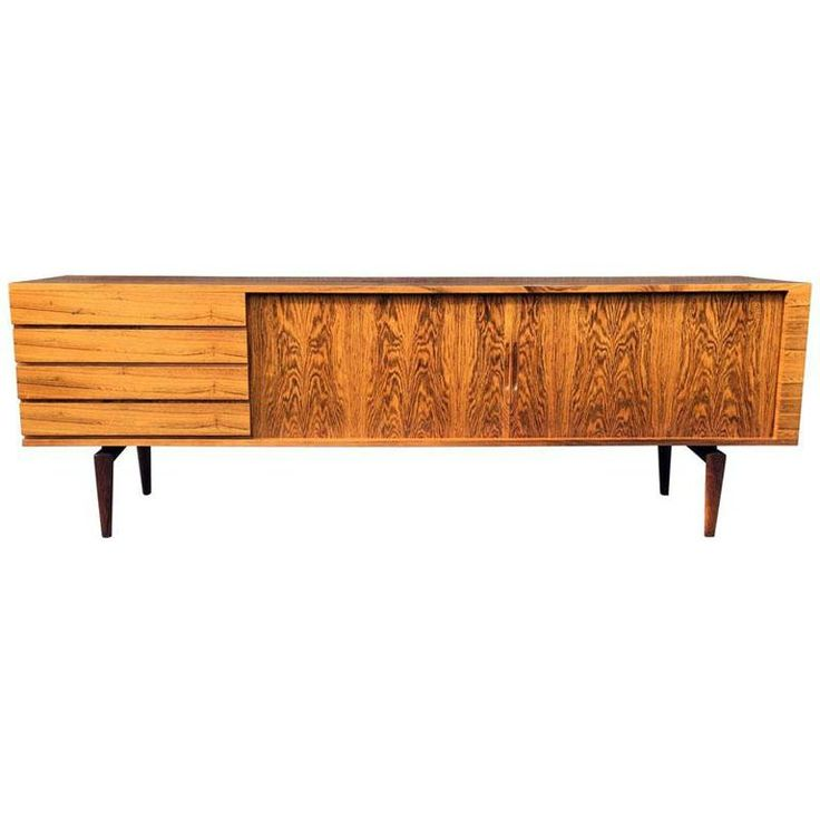 Rosewood Sideboard by H. W. Klein for Bramin, 1960s 1