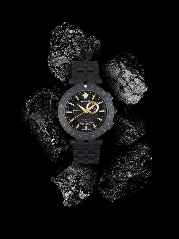 The Versace V-Race Watch. #VersaceWatches #Versace