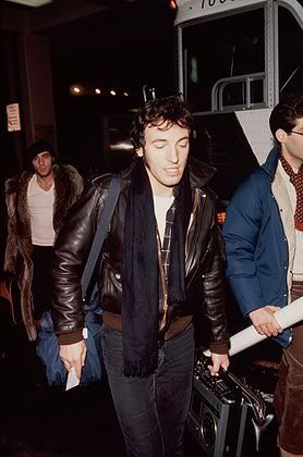 Bruce. Check out Stevie and that coat in the background!