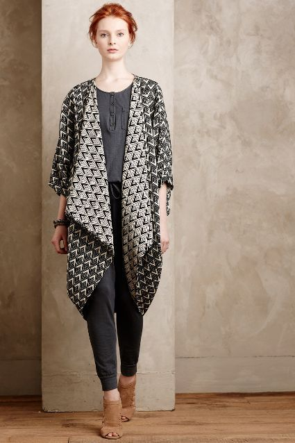 Arrowhead Cocoon Cardigan - anthropologie.com