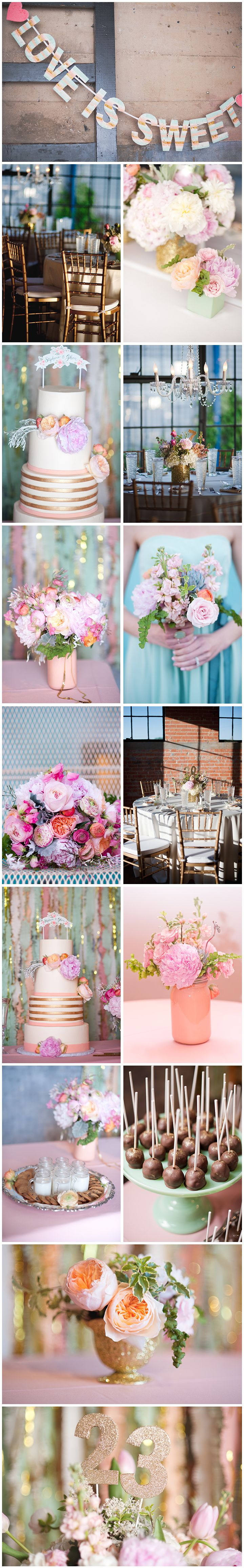 Pastel water colored wedding pallet  @Alicia Rico  @Kelli at Nine Photography  Dallas Fort Worth Wedding Photographers  #spingweddings #springweddingcolors #springbouquets
