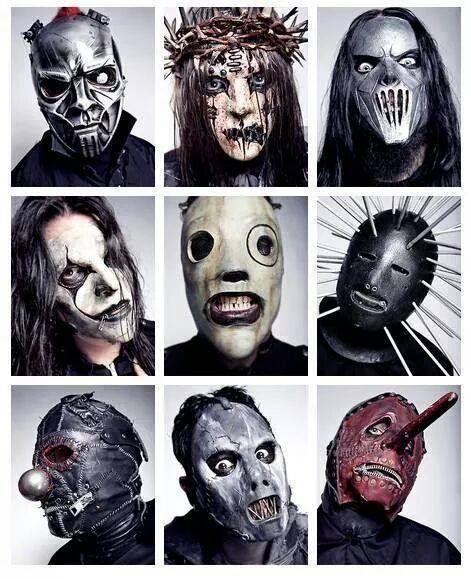 Slipknot masks | my bands | Pinterest | Masks, Hope and